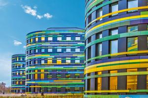 Der Hauptsitz der Behörde für Stadtentwicklung und Umwelt (BSU) in Hamburg ...