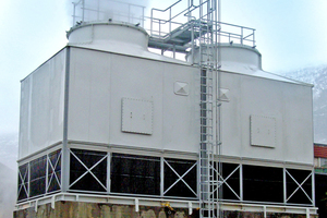 Verdunstungskühlanlagen müssen hygienegerecht betrieben werden.