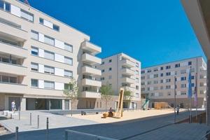 """Zwischen 2009 und 2012 wurden im Baugebiet """"Seelberg-Wohnen"""" sechs Mehrfamilienhäuser mit 111 Eigentumswohnungen erstellt<br />"""