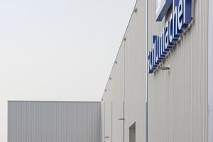 Die Brandschutzanforderungen im neuen Werk von Schumacher Packaging entsprechen dem aktuellen Technikstand und damit auch den hohen Anforderungen.