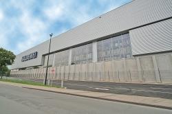 Das neue Logistik-Zentrum bietet 15.000 m2 Lagerfläche
