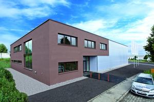 """Das neue Firmengebäude der Wölpper GmbH in Kirchheim/Teck wurde mit dem Architekturpreis """"Beispielhaftes Bauen"""" ausgezeichnet.<br />"""