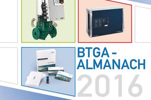 """Der """"BTGA-Almanach 2016"""" präsentiert aktuelle Trends der TGA-Branche."""