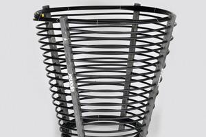 Der Erdwärmekorb von Uponor besteht aus dem robusten PE-Xa-Rohr des Herstellers<br />