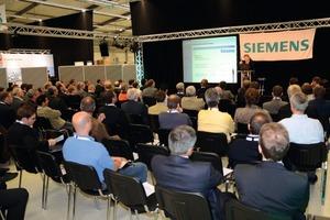 Auf 1000 m² Ausstellungsfläche und bei insgesamt 30 Fachvorträgen konnten sich Planer auf dem Siemens Infrastruktur- und Planerforum zu aktuellen Trends und Entwicklungen bei Energieversorgung und -effizienz, Sicherheit und Beleuchtung informieren<br />